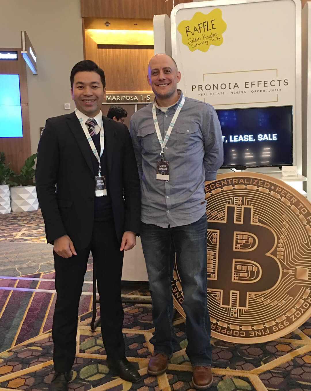 BLUEBELT at Worldcrypto conference in Las Vegas, the U.S