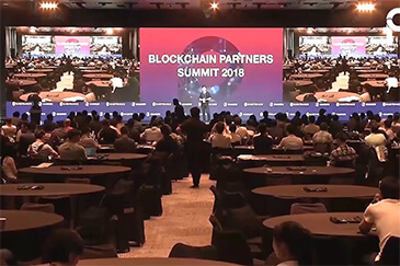 BLUEBELT at Blockchain Partners Summit in Korean